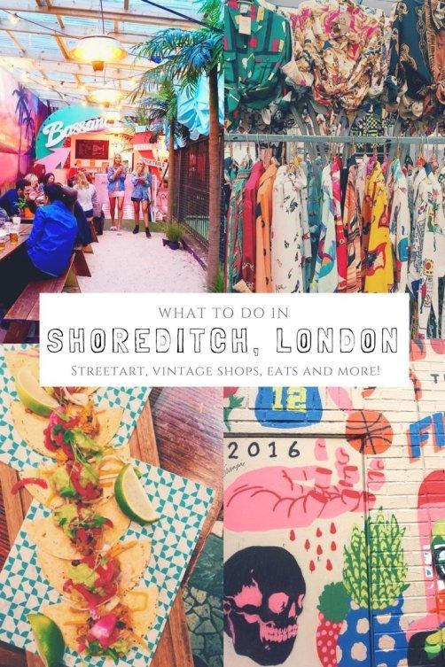 Best Food Markets Near Shoreditch