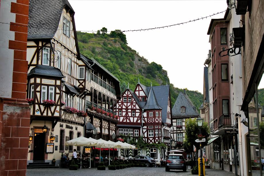 Town in Bacharach, Germany