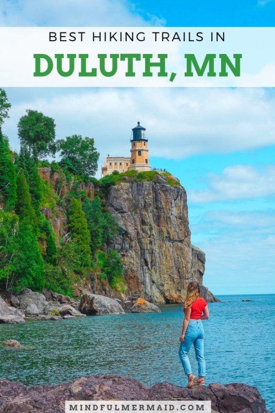 The Best Hiking Trails in Duluth, Minnesota. #NorthShore #LakeSuperior #Minnesota #Hiking #adventure2