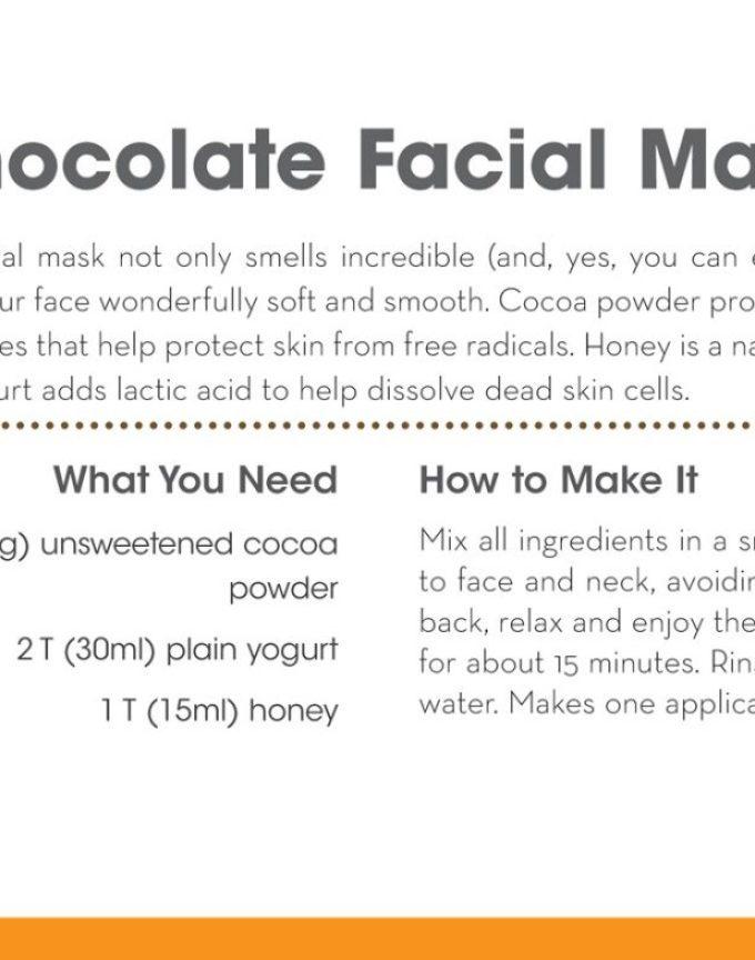 Make It Green: Chocolate Facial Mask