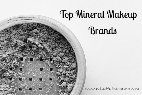 Top Mineral Makeup Brands www.mindfulmomma.com