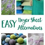 Easy Non-Toxic Dryer Sheet Alternatives
