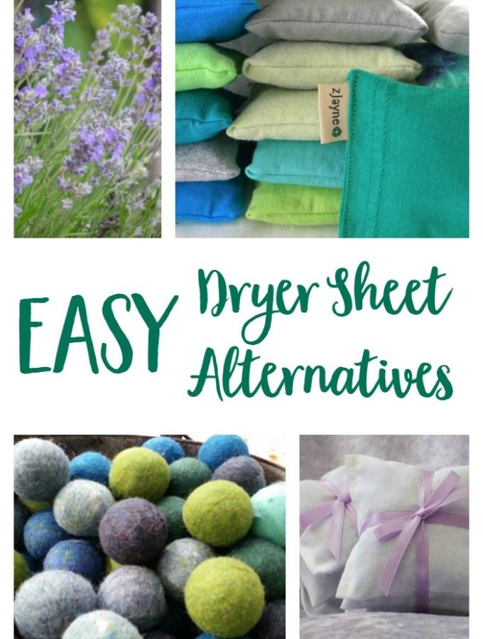 Easy Non-Toxic Dryer Sheet Alternatives