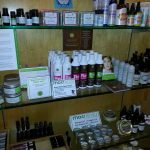 Personal care products at Moss Envy