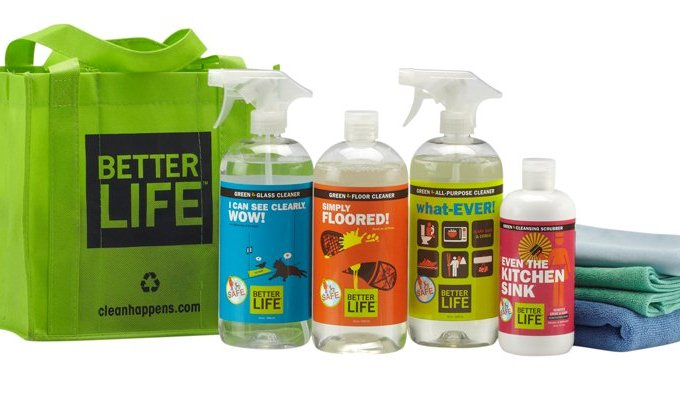 Better Life Green Cleaning Product Giveaway