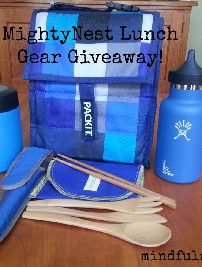 MightyNest lunch gear giveaway www.mindfulmomma.com