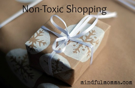 Non-Toxic Shopping Guide via mindfulmomma.com