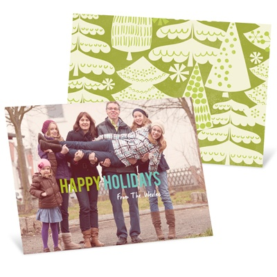 Greener Holiday Cards From Pear Tree Greetings {Giveaway!}