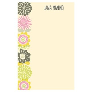 Pear Tree Greetings customized note pad via mindfulmomma.com
