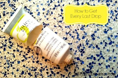 How to Get Out Every Last Drop via mindfulmomma.com
