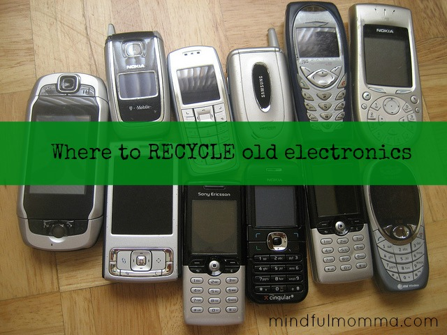 Spring Decluttering: Recycle Old Electronics