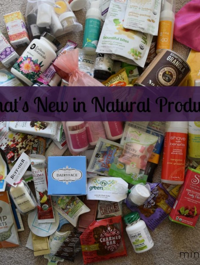Trends in Natural Products from Expo East