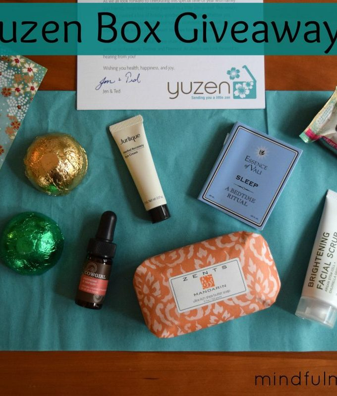 Yuzen Box Giveaway Winter 2014