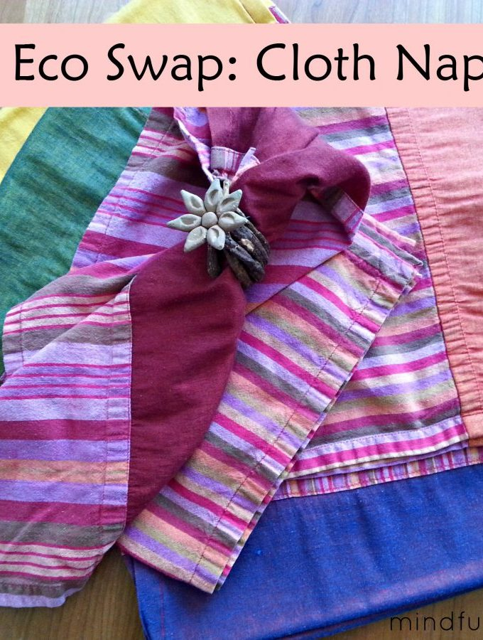 Easy Eco Swap: Cloth Napkins vs. Paper