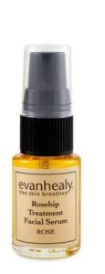 evan healy rosehip treatment facial serum rose via mindfulmomma.com