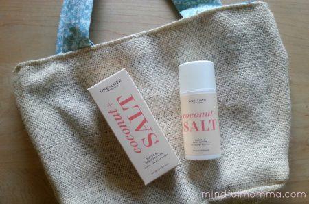 One Love Organics Coconut Salt Mineral Lotion