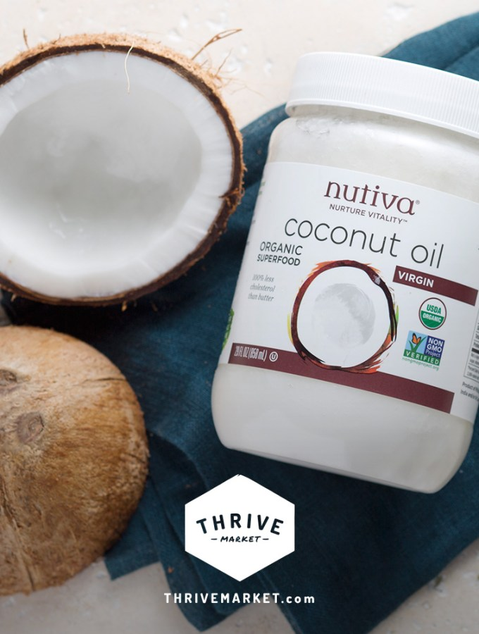 Get FREE Organic Coconut Oil with a New Thrive Market Membership