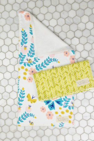 Organic Cotton Burp Cloth Set