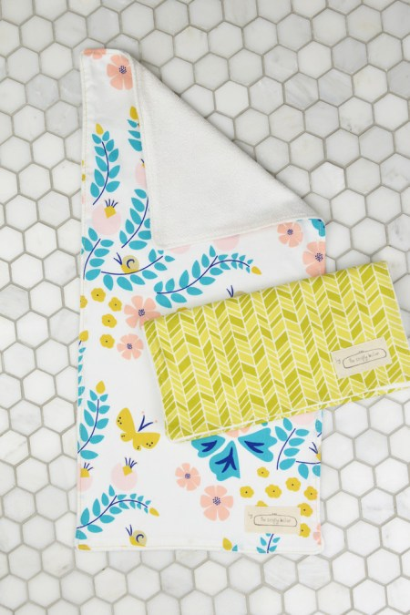 Organic Cotton Burp Cloth Set and Other Eco Friendly Baby Gifts