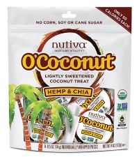 Nutiva O-Coconut and other organic snacks