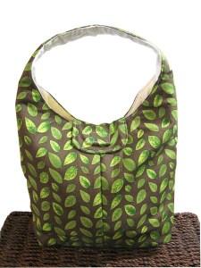 Handmade cotton lunch bag