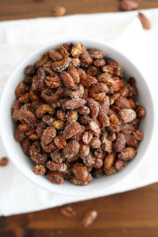 Moroccan Spiced Nuts from Girl Vs Dough