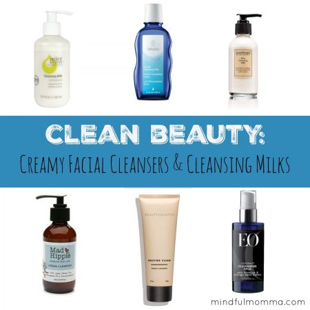 Clean Beauty Creamy Facial Cleansers