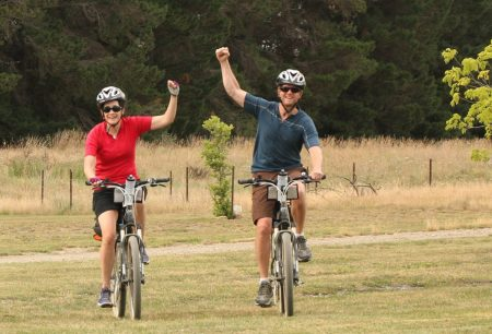 Riding on the Otago Rail Trail in New Zealand // www.mindfulmomma.com