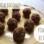 Cashew Coconut Power Bites