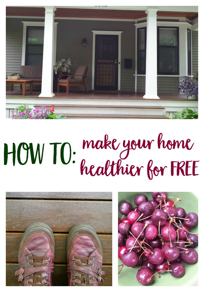 How to Make Your Home Healthier for FREE // mindfulmomma.com
