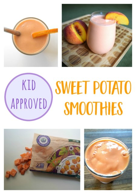 Kid Approved Sweet Potato Smoothies // mindfulmomma.com