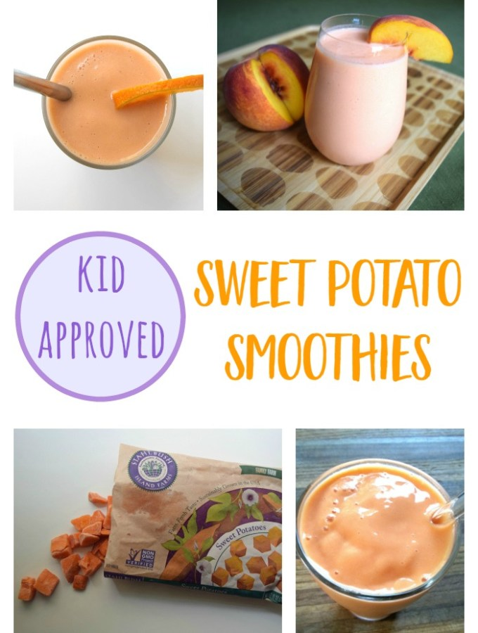 Sweet Potato Smoothies – 3 Kid-Friendly Recipes