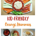 Kid-Friendly Orange Cumin Hummus