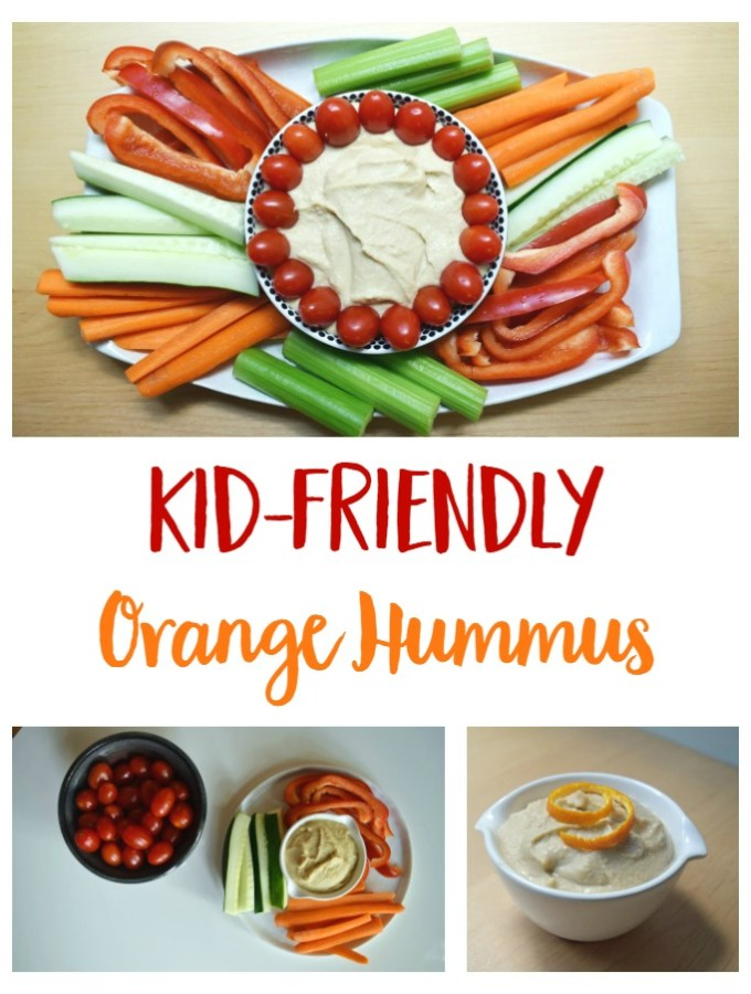 Kid-Friendly Orange Hummus