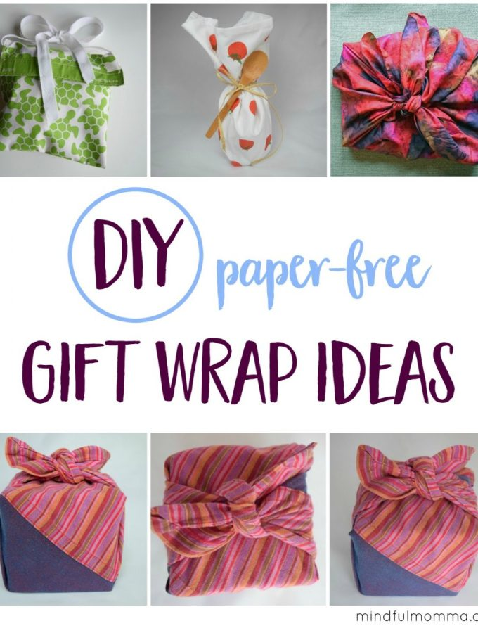 Unique Ways to Make the Gift Wrap Part of the Gift