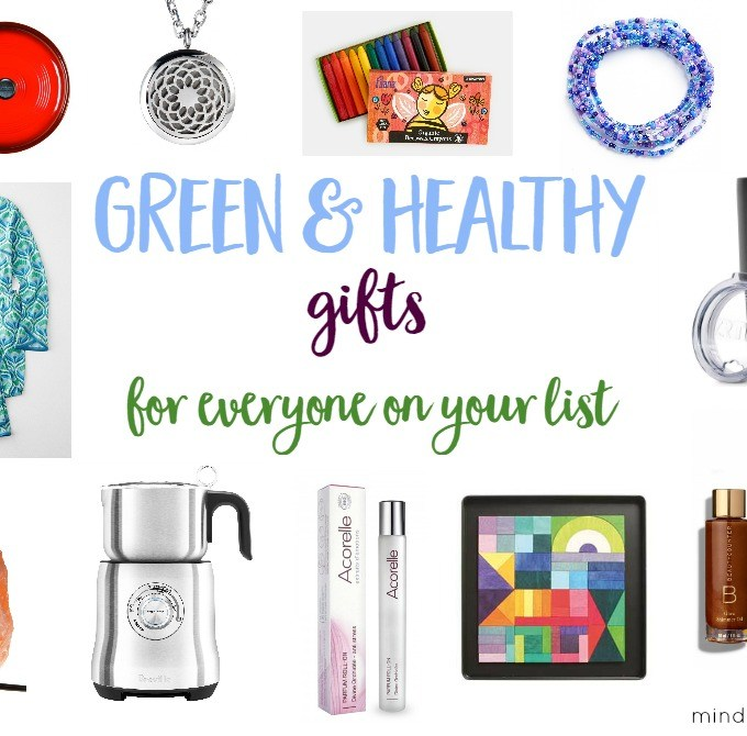 Green & Healthy Gifts to Surprise and Delight