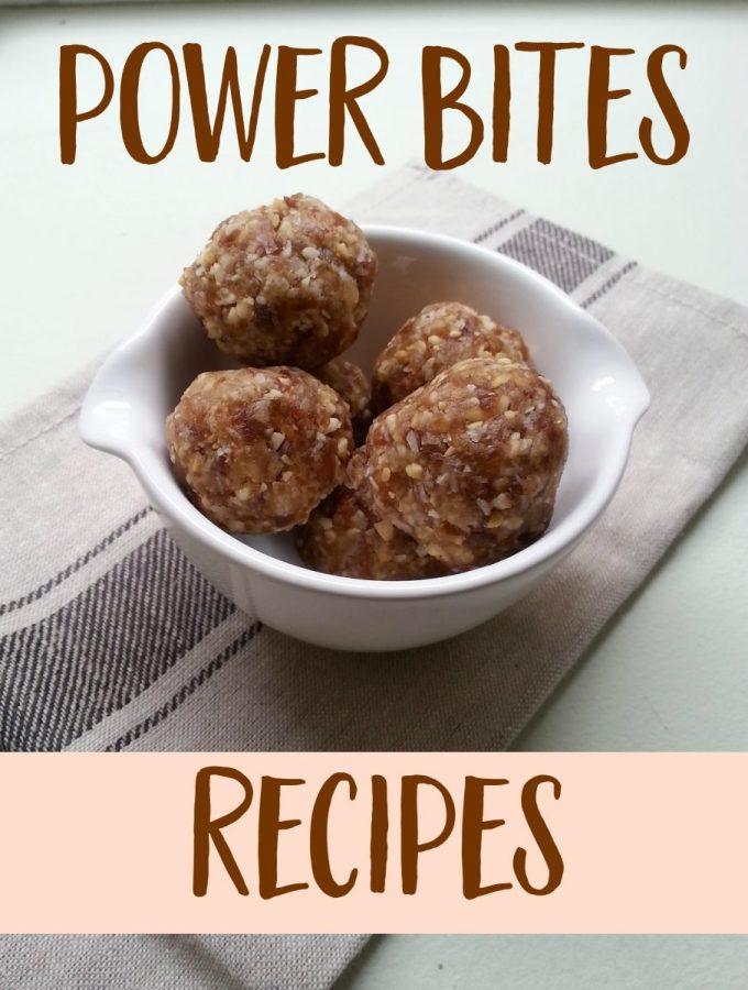 Cashew Coconut Power Bites + 2 Easy Variations