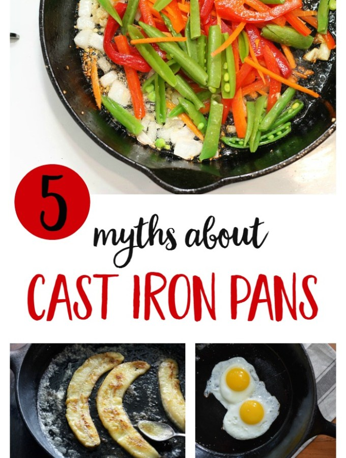 5 Myths about Cast Iron Pans