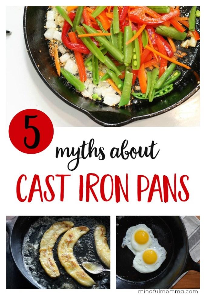 5 Myths about Cast Iron Pans
