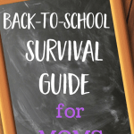 The Ultimate Back-to-School Survival Guide for Moms {Giveaway!}