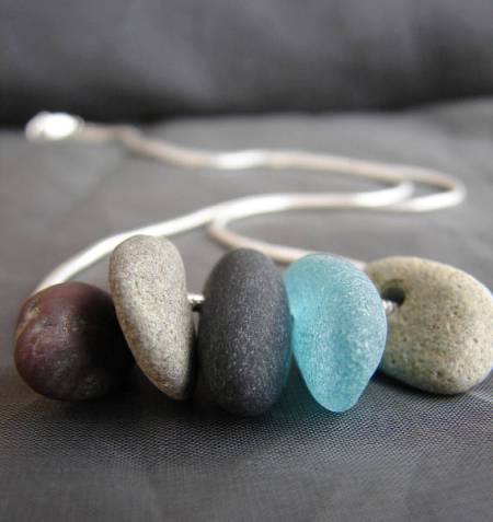 Beach Walk Necklace and other eco friendly gifts