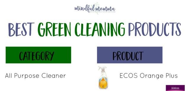 Best Green Cleaning Products Sneak Peek