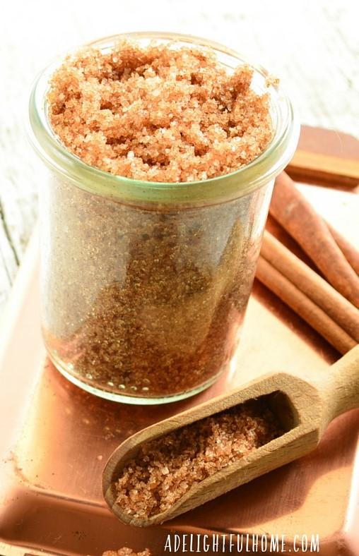 Brown Sugar Vanilla Body Scrub from No Fuss Natural