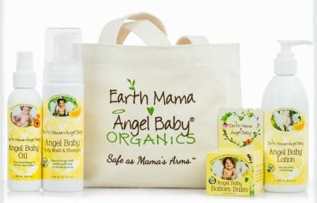 Earth Mama Angel Baby Essentials Bundle