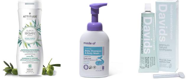 EWG Verified Personal Care Products