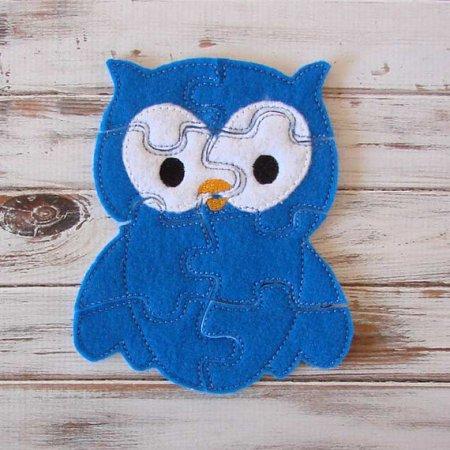 Felt Owl Puzzle
