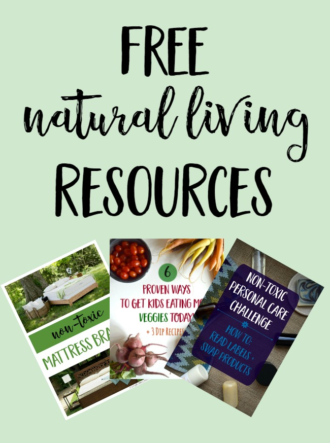 Sign up for the Mindful Momma mailing list for FREE natural living resources