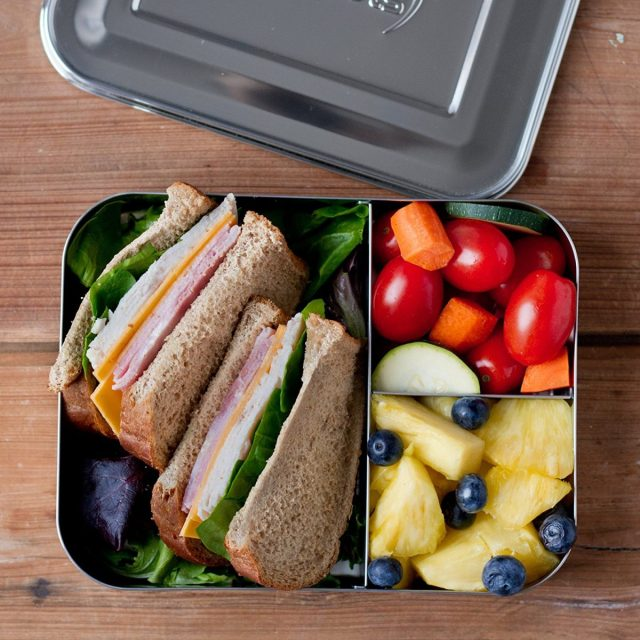 Lunchbots bento trio and other reusable lunch containers
