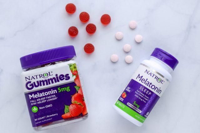 Natrol Melatonin Gummies and Fast Dissolve
