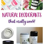 How to Find the Natural Deodorant that Works Best For You